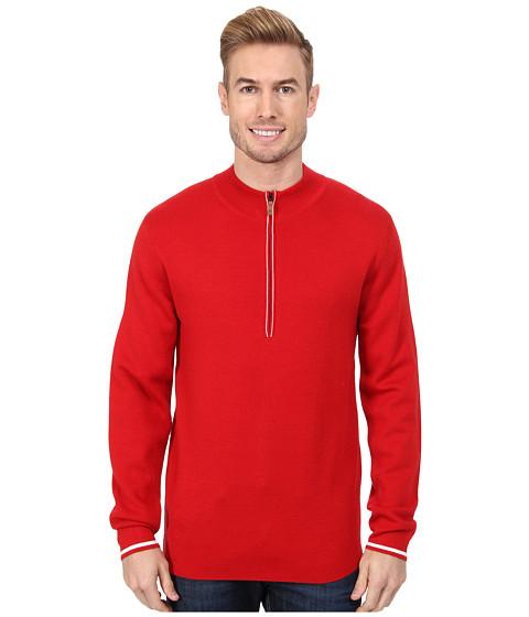 Obermeyer - Matterhorn 1/2 Zip (True Red) Men's Long Sleeve Pullover