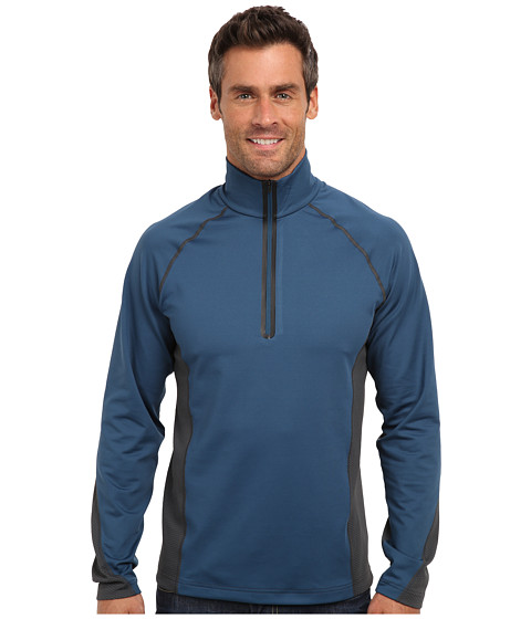 Obermeyer - Flex 75 Dri-Core Top (Blue Slate) Men's Clothing