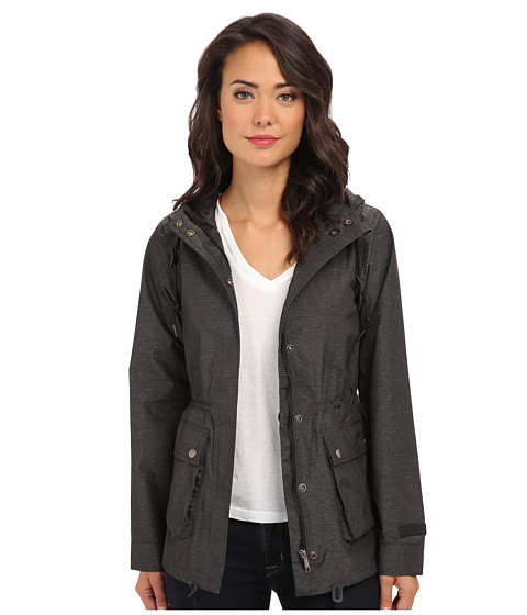 Obey - Storm Jacket (Heather Charcoal) Women's Coat