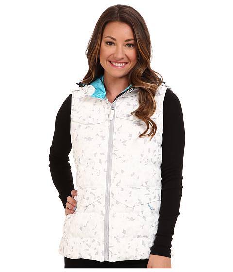 Obermeyer - Dylan Vest (White Floral Ca) Women's Coat