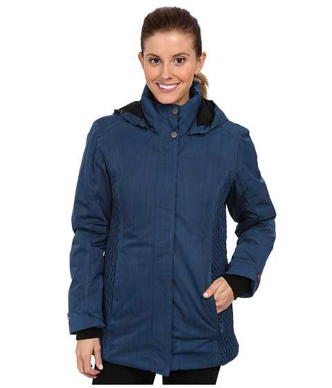 Obermeyer - Lexington Jacket (Blue Slate) Women's Coat