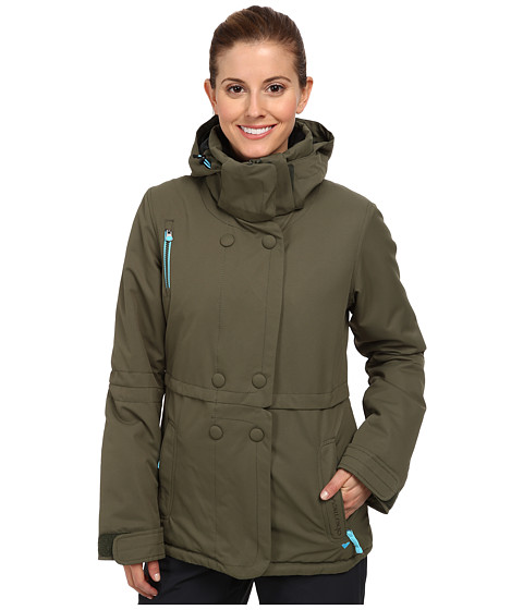 Obermeyer - Brigitte Jacket (Stone Green) Women's Jacket