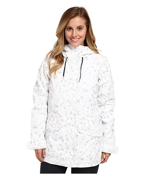 Obermeyer - Isla Jacket (White Floral Ca) Women