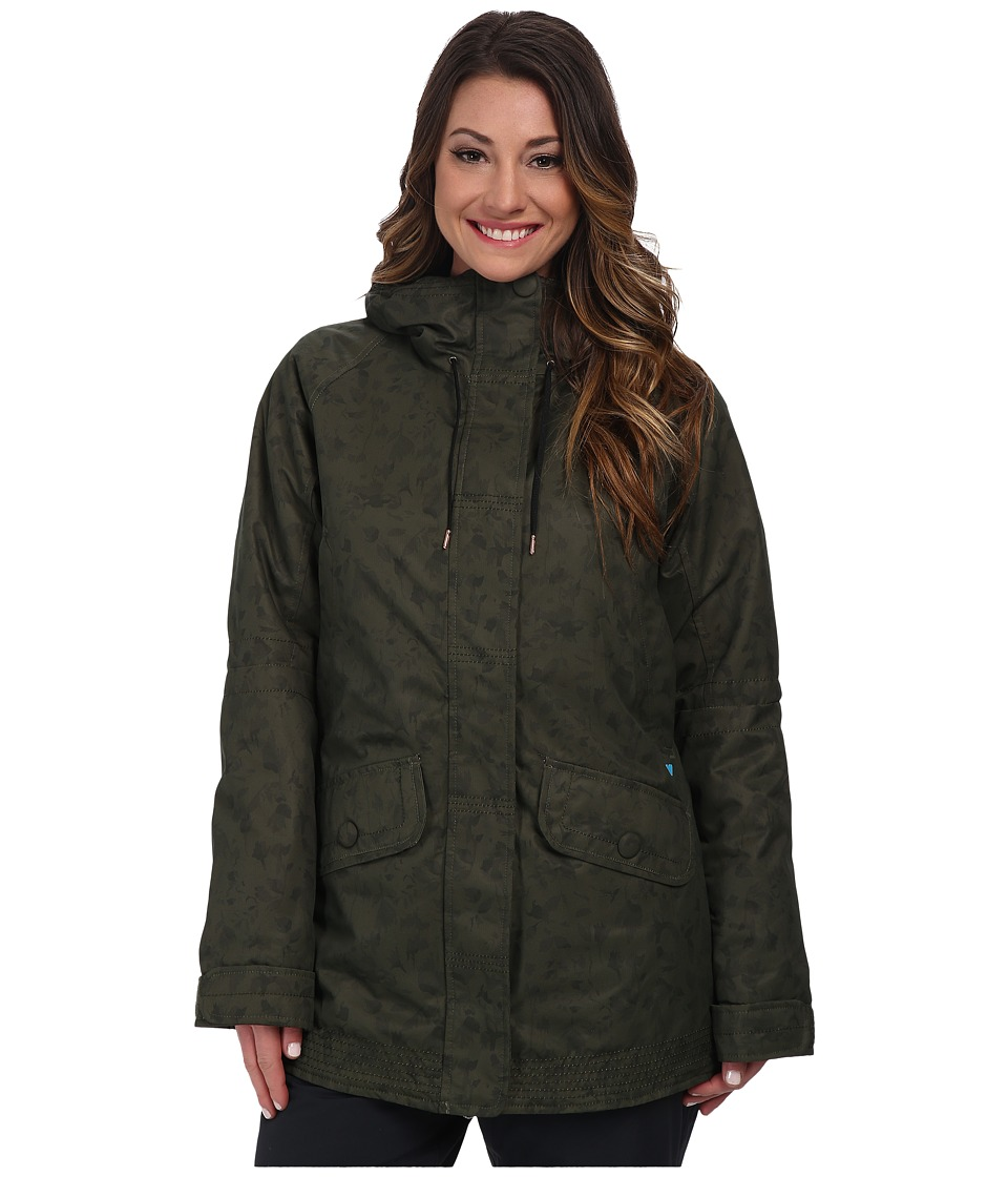 Obermeyer - Isla Jacket (Stone Green Flo) Women's Coat