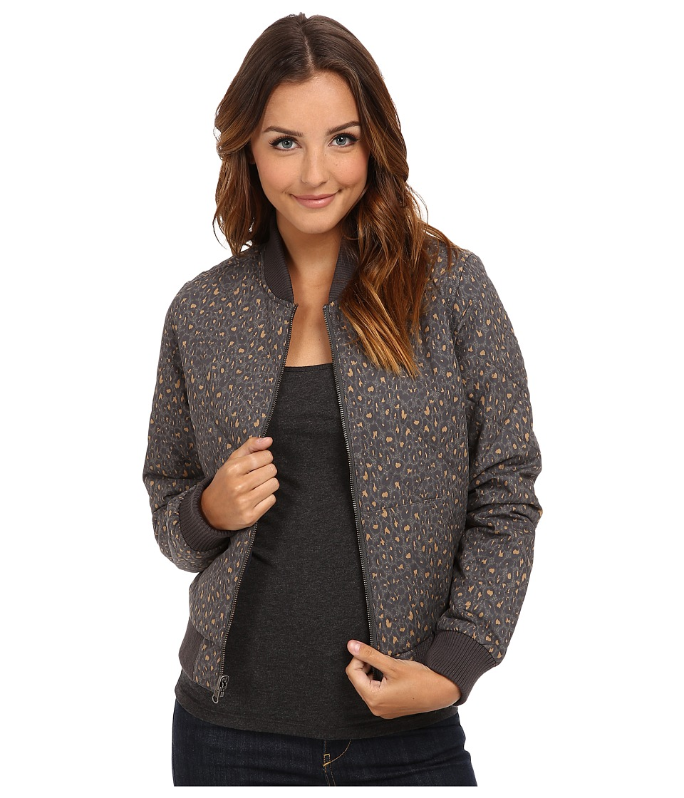 Obey - Ramona Reversible Bomber Jacket (Leopard/Black) Women's Coat