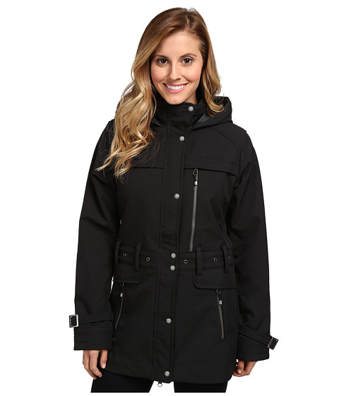 Obermeyer - Midtown Softshell Jacket (Black) Women
