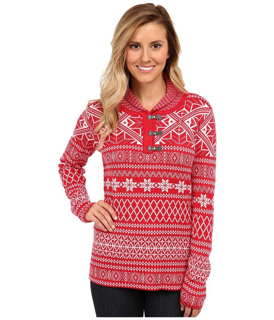 Obermeyer - Cabin Pullover (Crimson) Women's Clothing