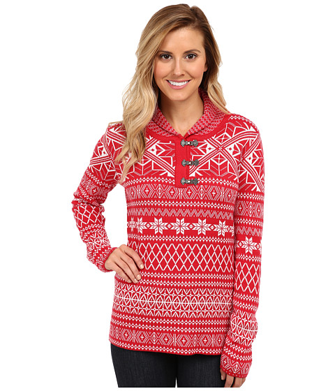 Obermeyer - Cabin Pullover (Crimson) Women