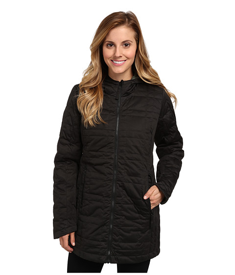 Obermeyer - Brooklyn Reversible Down (Black) Women's Coat