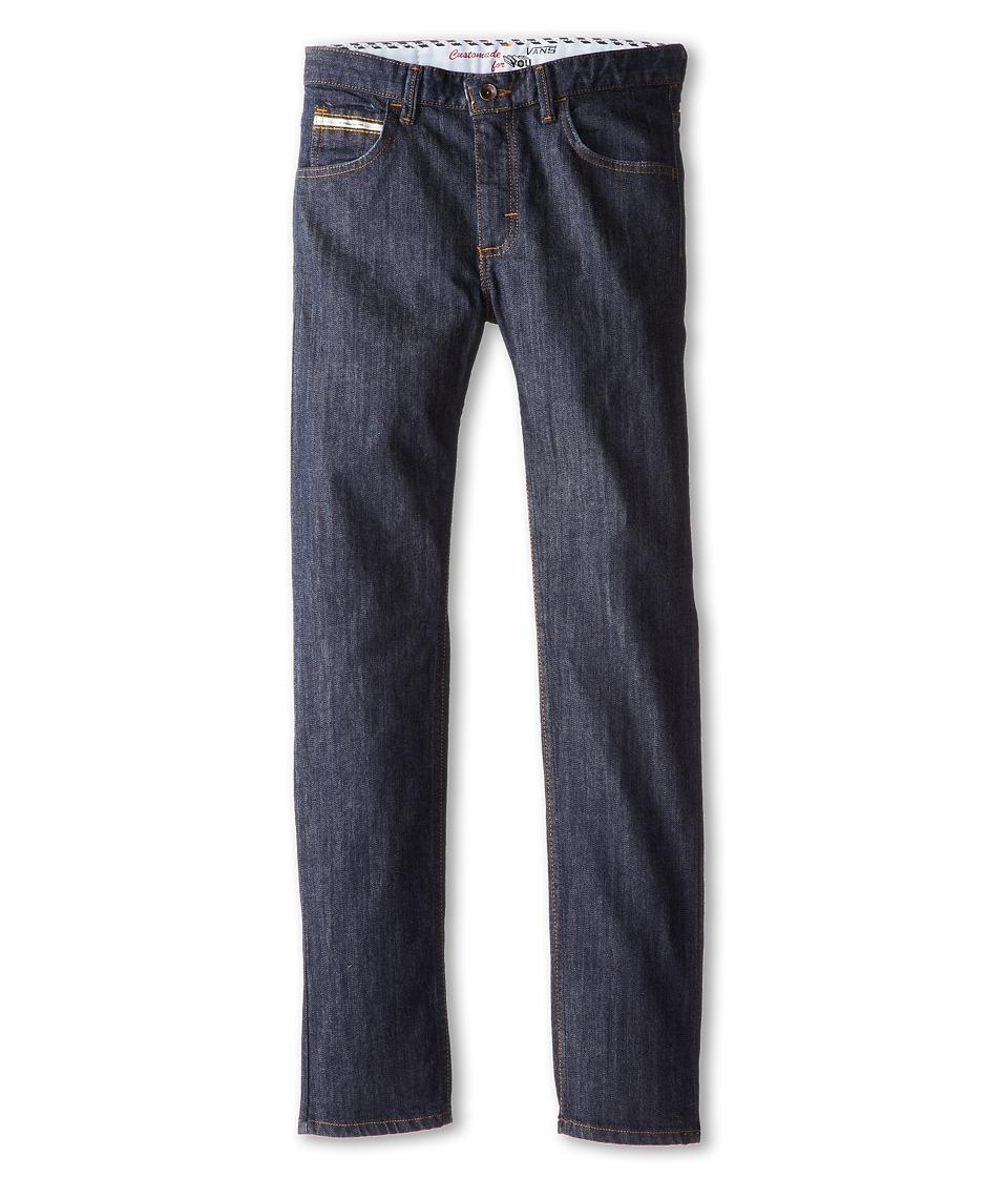 Vans Kids - V56 Standard (Big Kids) (Midnight Indigo Raw) Boy's Jeans
