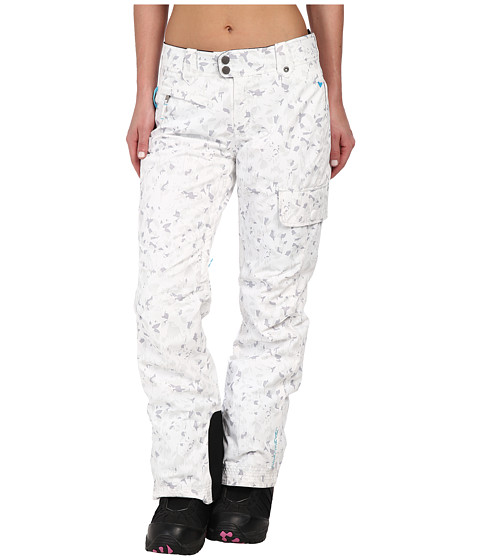 Obermeyer - Rally Pant (White Floral Ca) Women