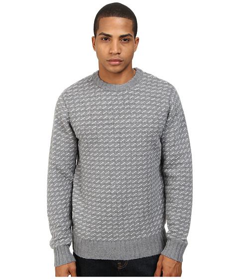 Obey - York Sweater (Heather Grey) Men