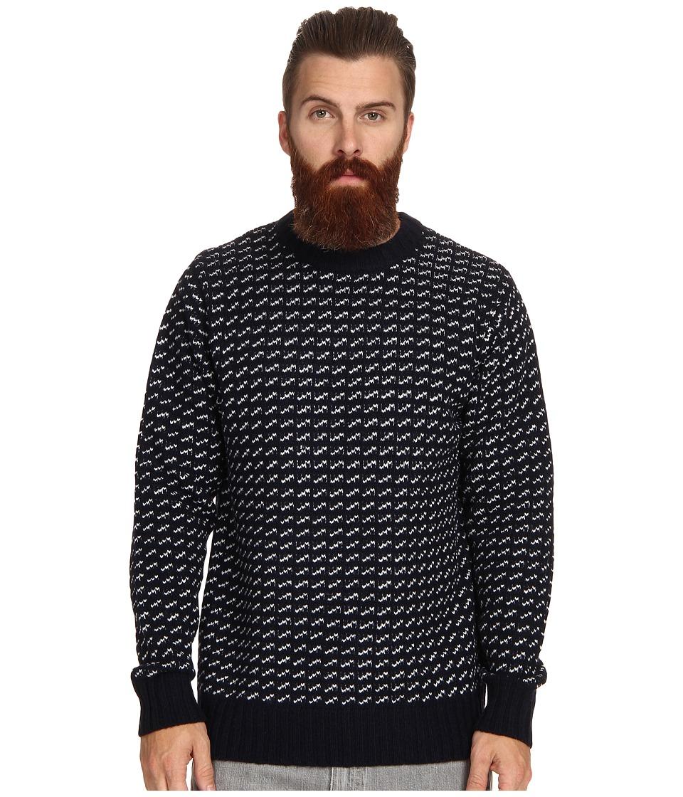 Obey - York Sweater (Navy) Men