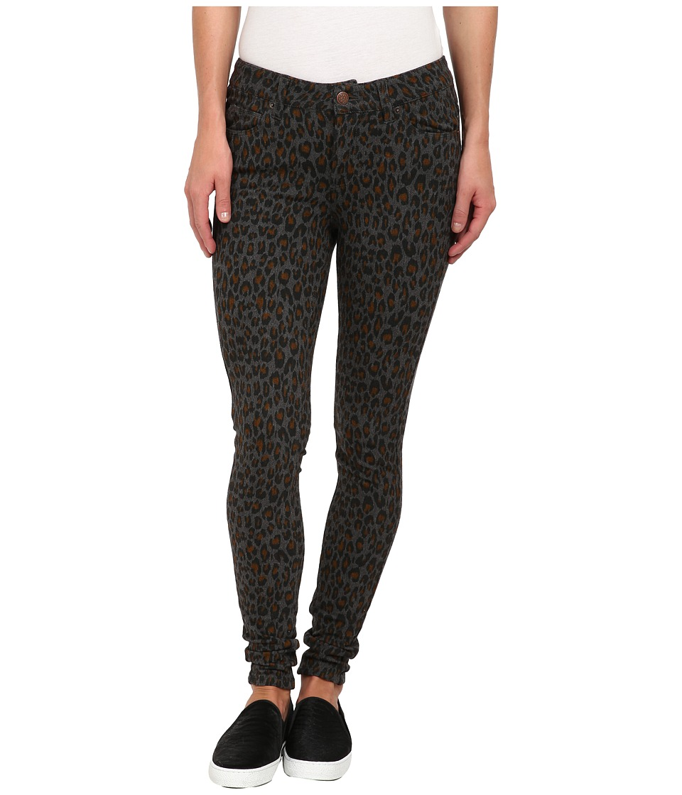 Obey - Lean Mean Denim Pant (Leopard) Women's Casual Pants