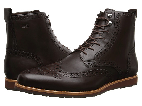 BOSS Black - Casuro (Dark Brown) Men