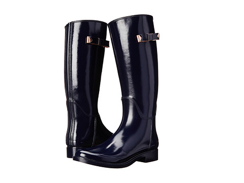 Ted Baker - Elanera (Dark Blue Rubber) Women's Rain Boots