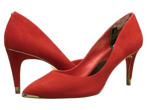 Ted Baker - Monirra (Orange Suede) High Heels