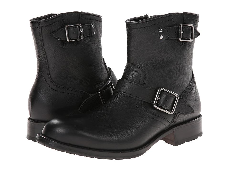 Cole Haan Wayne Zip Boot (Black) Men