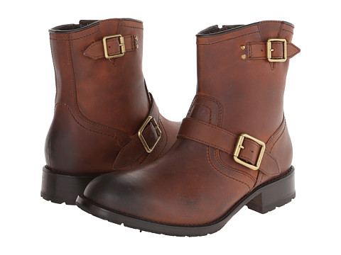 Footwear-Cole Haan Wayne Zip Boot (Cognac) Men's Zip Boots