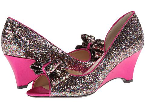 J. Renee - Chrissy (Fuchsia Multi Glam Fabric) Women's Wedge Shoes