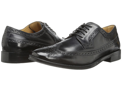 Cole Haan - Lionel Longwing OX (Black 1) Men's Lace Up Wing Tip Shoes