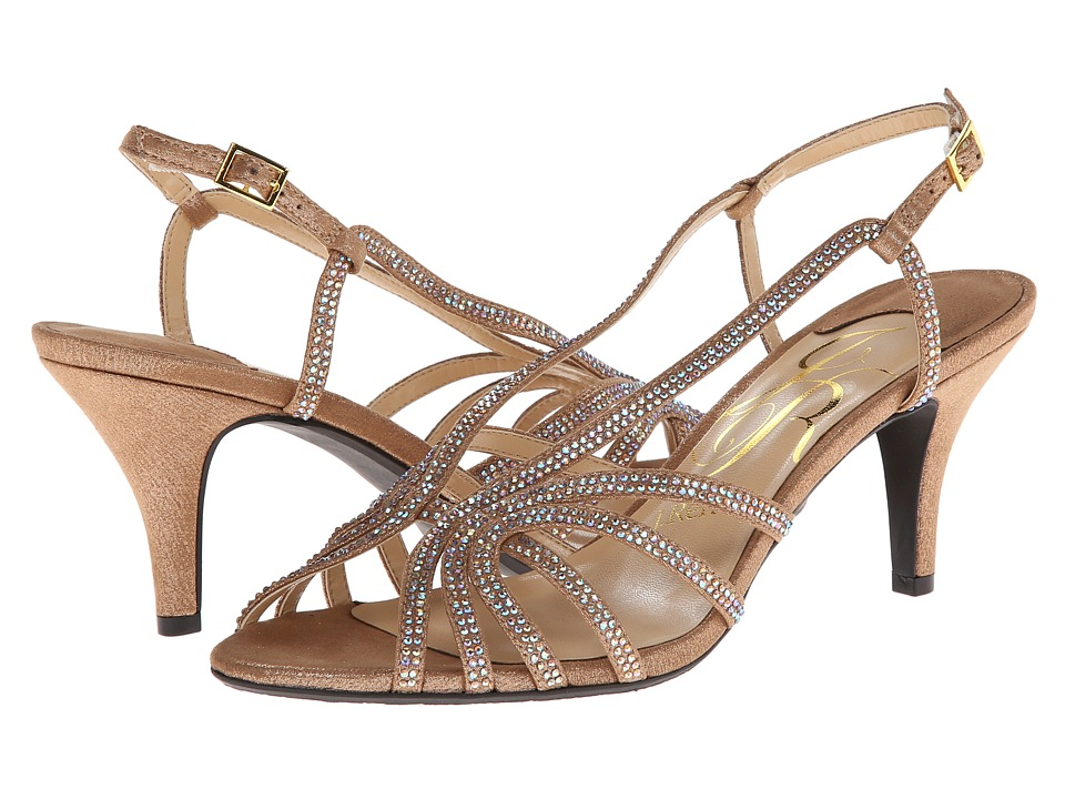 J. Renee Evra (Savanna Gold) High Heels