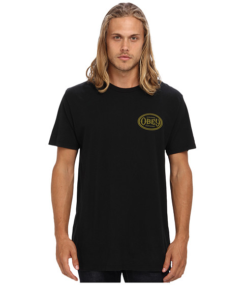 Obey Olympus Premium Tee (Black) Men's T Shirt