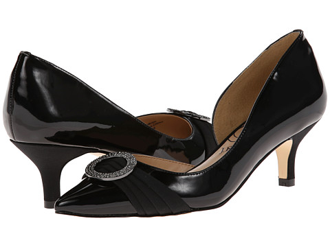 J. Renee - Borish (Black/Black Patent Leather) Women's Shoes