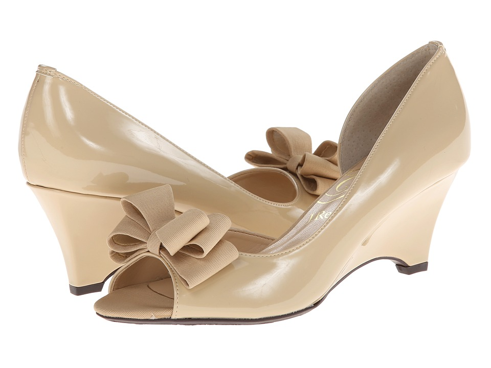 J. Renee Chrissy (Nude Patent Leather) Women