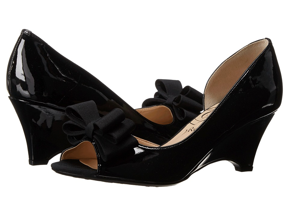 J. Renee Chrissy (Black Patent Leather) Women