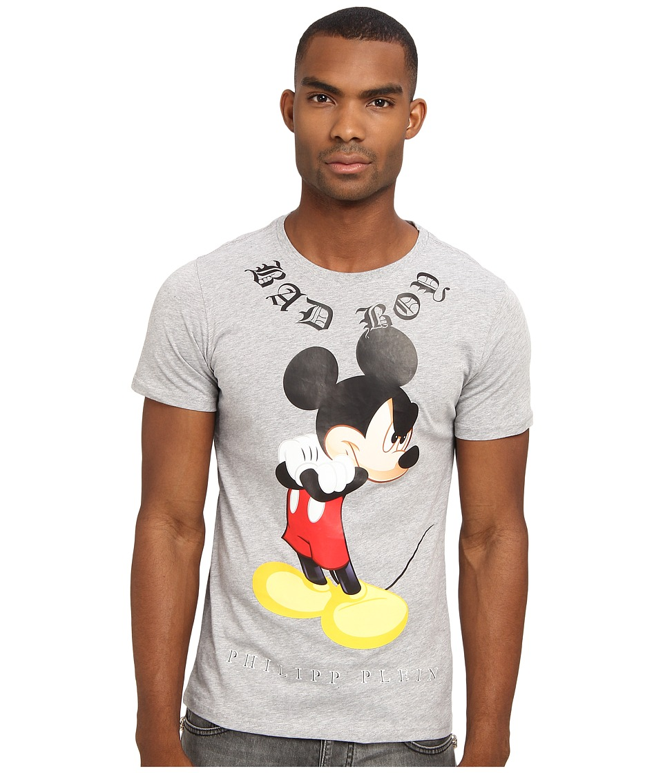 Philipp Plein - Bad Mouse Tshirt (Grey) Men's T Shirt