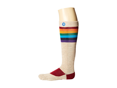 Stance - Scotty (White) Crew Cut Socks Shoes