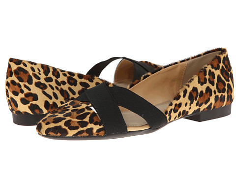 Bella-Vita - Ophelia (Leopard Pony) Women's Dress Flat Shoes