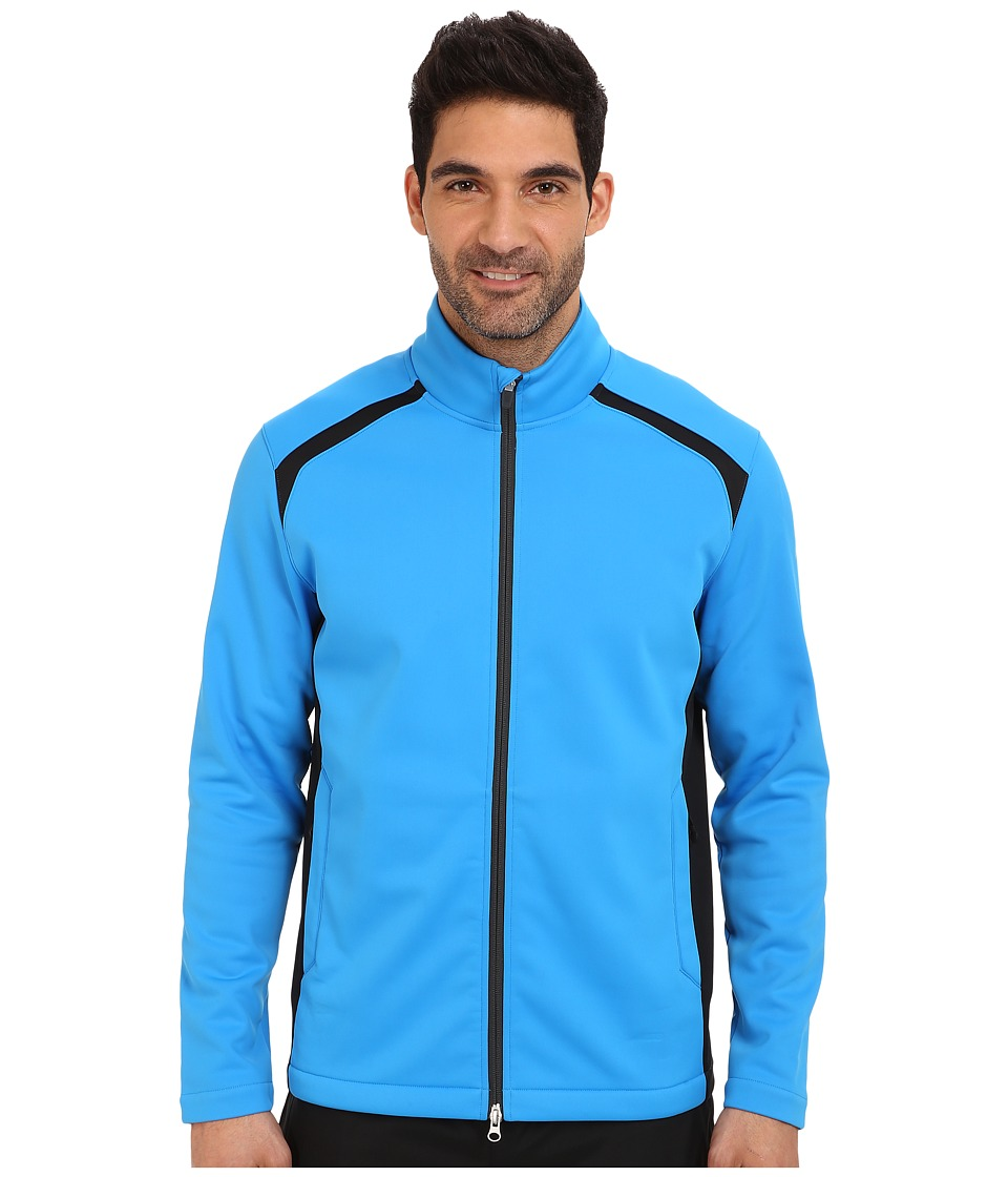 Nike Golf - Wind Resist Therma-Fit Jacket (Photo Blue/Anthracite/Anthracite) Men's Coat