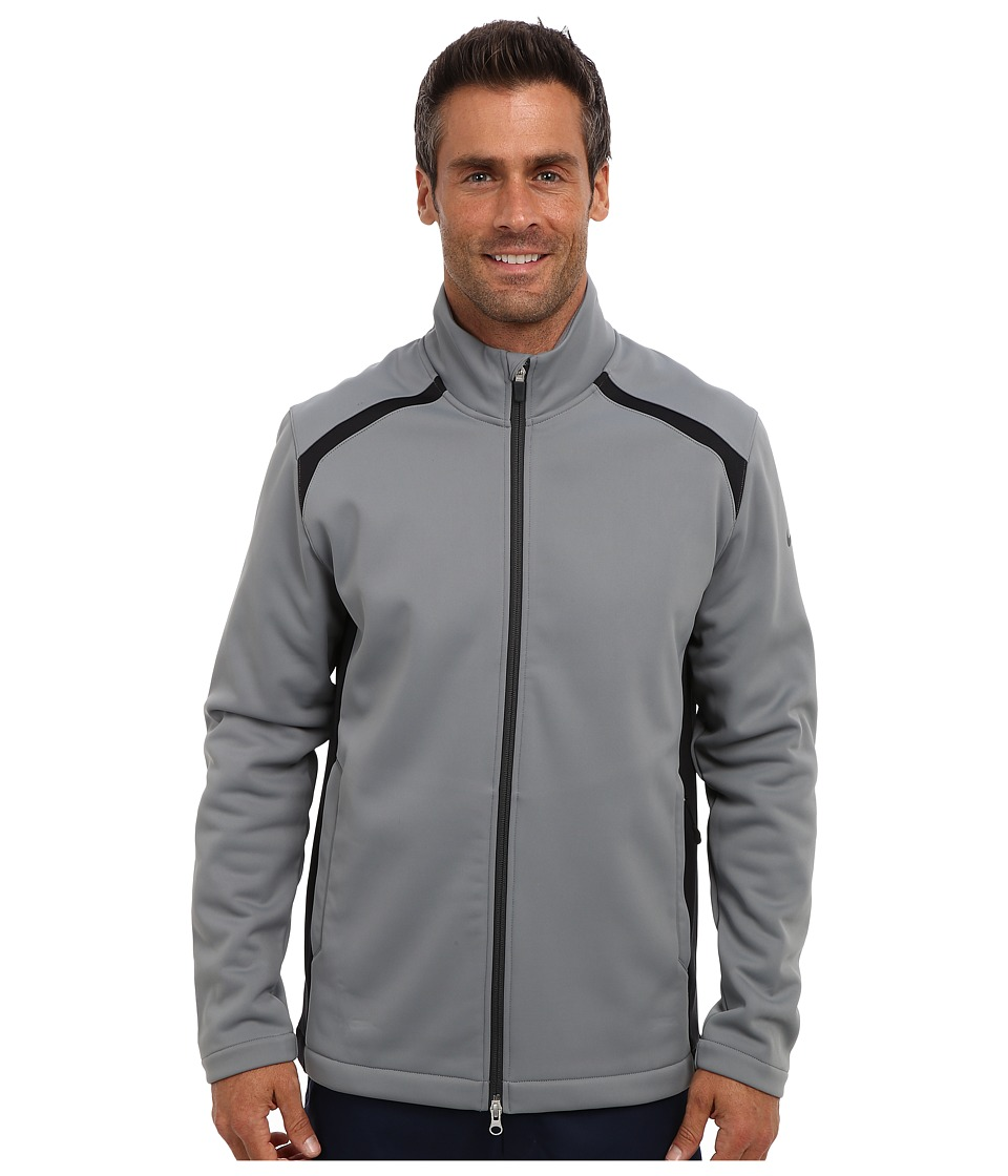 Nike Golf - Wind Resist Therma-Fit Jacket (Cool Grey/Anthracite/Anthracite) Men's Coat