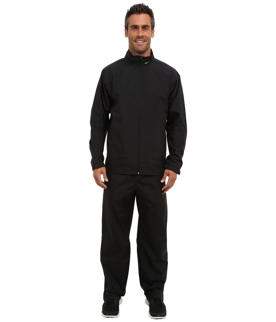 Nike Golf - New Storm-Fit Rain Suit (Black/Black/Anthracite) Men's Active Sets