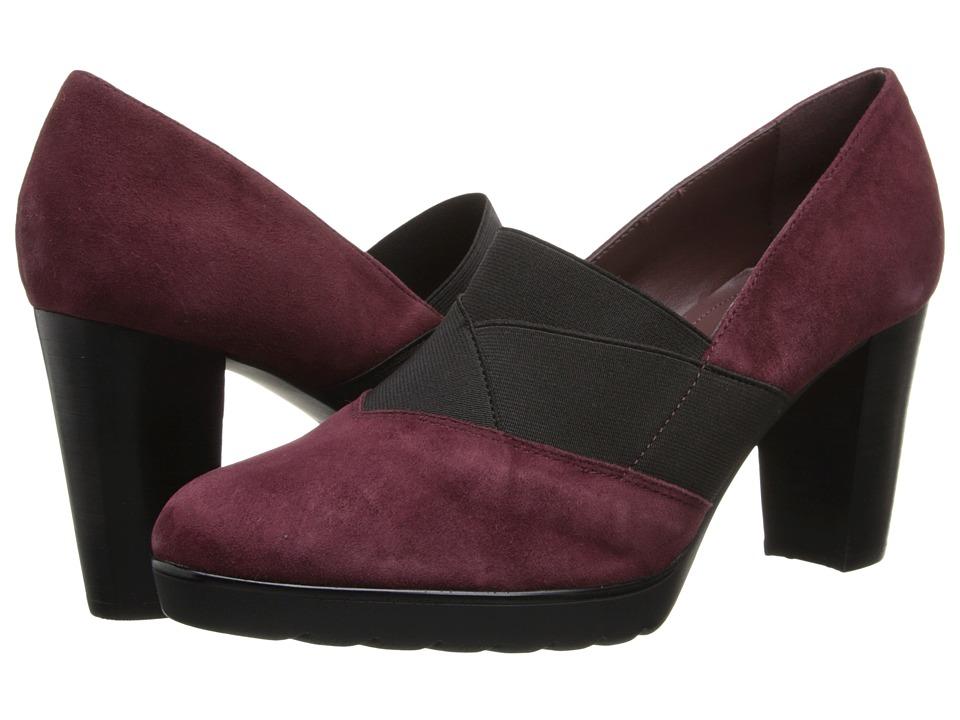 Bella-Vita - Zeta (Burgundy Kidsuede) High Heels