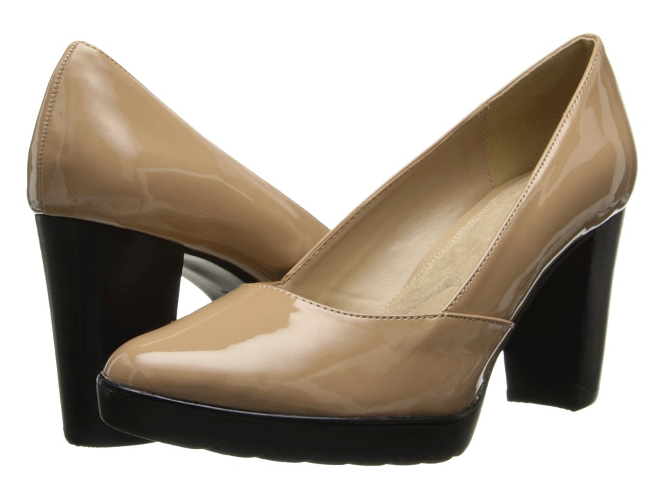 Bella-Vita - Zari II (Nude Patent) Women's Shoes
