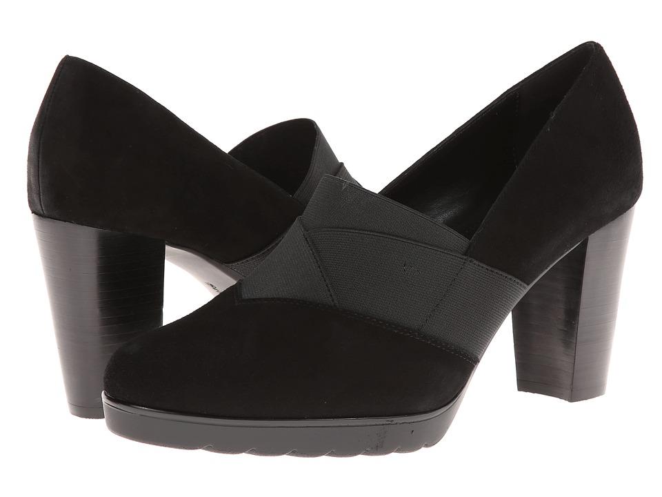 Bella-Vita - Zeta (Black Kidsuede) High Heels