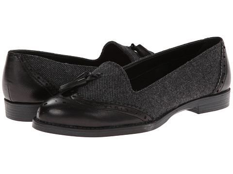 Bella-Vita - Reagan (Black Herring/Leather) Women's Flat Shoes