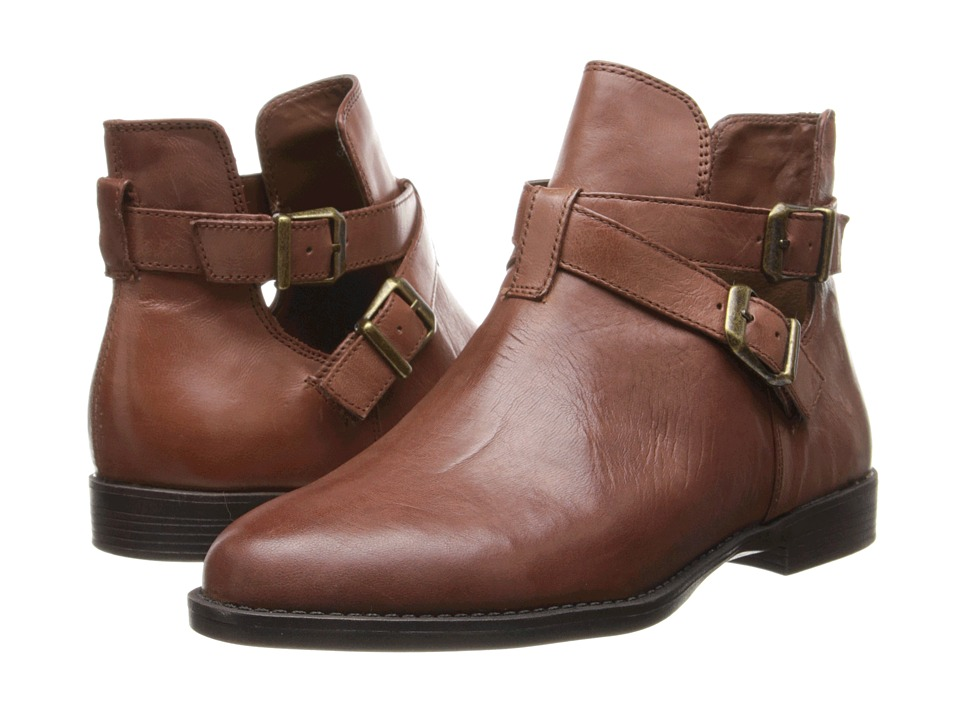 Bella-Vita Raine (Dark Tan Leather) Women