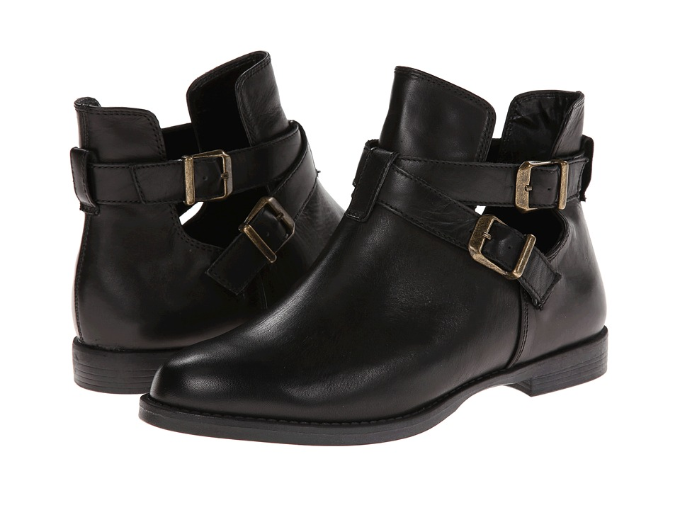 Bella-Vita - Raine (Black Leather) Women's Shoes