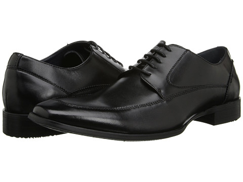 Steve Madden - Sayge (Black Leather) Men
