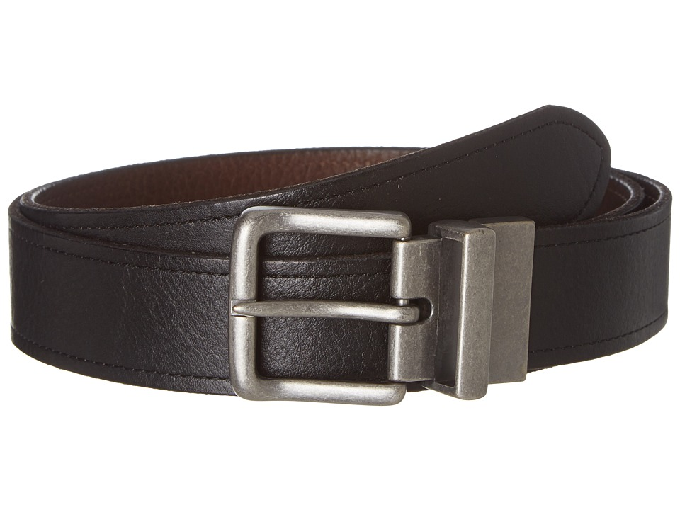 Bill Adler 1981 - Reversible Belt (Black/Brown) Men's Belts
