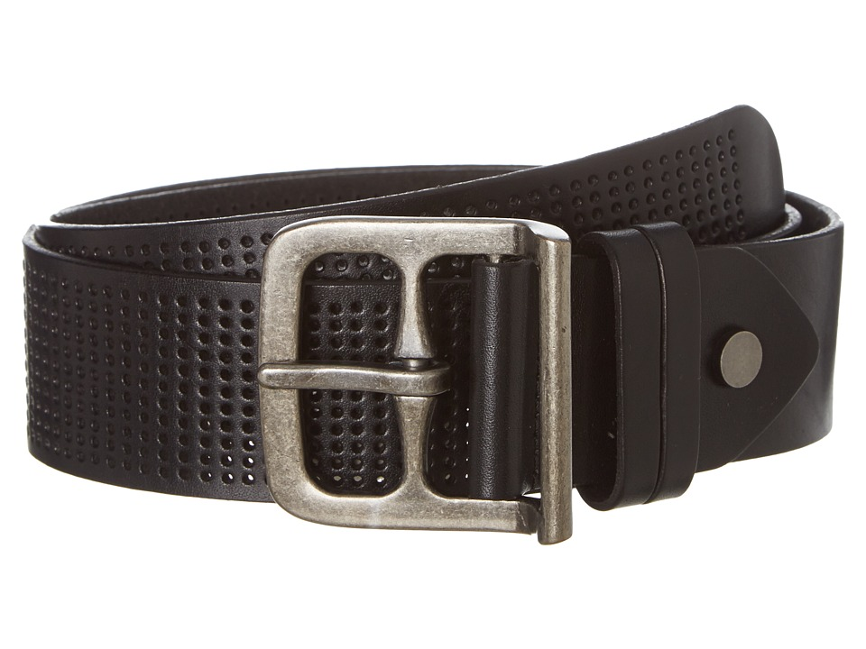 Bill Adler 1981 - Wide Perf (Black) Men's Belts