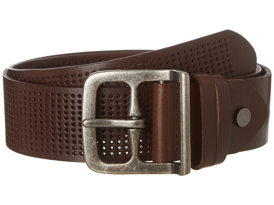 Bill Adler 1981 - Wide Perf (Brown) Men's Belts