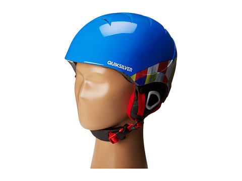 Quiksilver - The Game Helmet (Big Kids) (Blue) Snow/Ski/Adventure Helmet