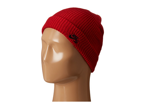 Nike SB - Fisherman Beanie (Gym Red/Black) Beanies