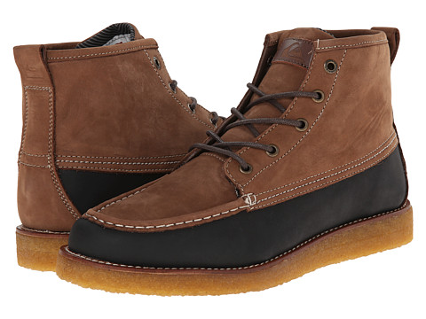 Quiksilver - Transom (Brown/Brown/Green) Men's Boots