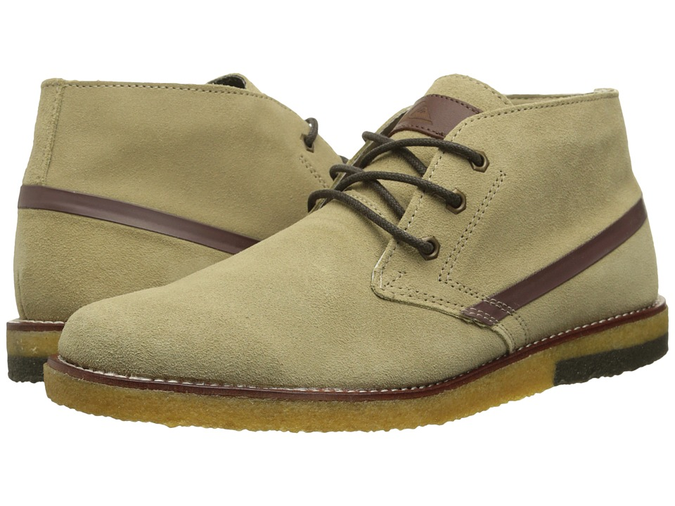 Quiksilver - Marquez (Tan/Solid) Men's Lace-up Boots